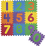 10 Piece Puzzle Mat Numbers Foam Play Mat