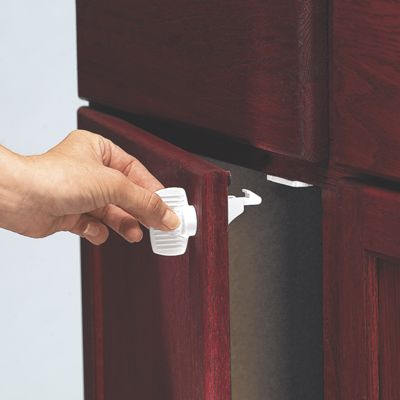 KidCo No Drill Magnetic Cabinet Locks from One Step Ahead | 30166