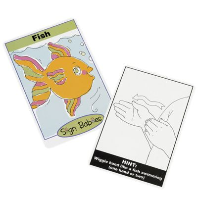 Sign Babies Flash Cards