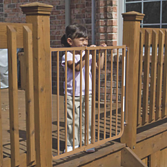 Non-Rust Outdoor Safety Gate