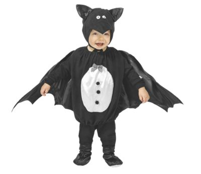Baby Bat Costume with Booties