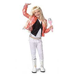 Girls Hannah Montana Costume
