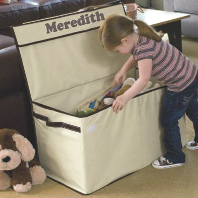 Large Collapsible Canvas Toy Box