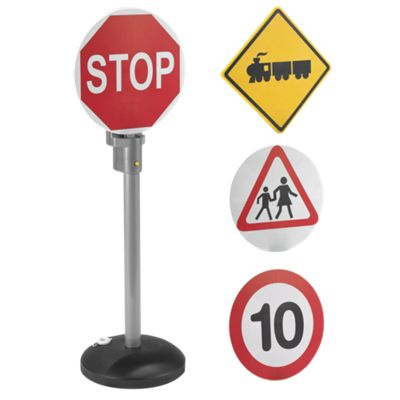 Interactive Talking Road Signs