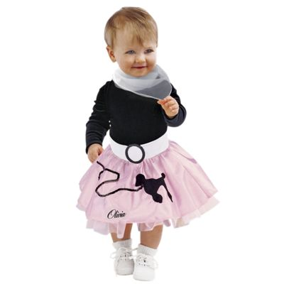 Baby Bandstand Costume Skirt Set