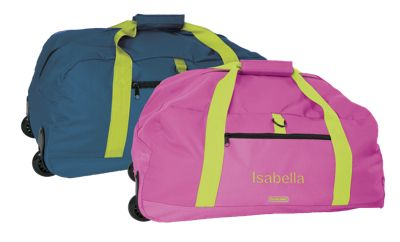Child-Sized Wheeled Duffle Bag