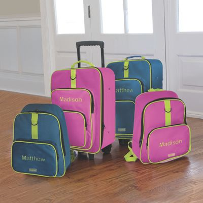 Child-Sized 2 Piece Luggage Set