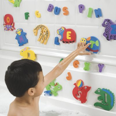 Foam Bath Toy Letters and Animals