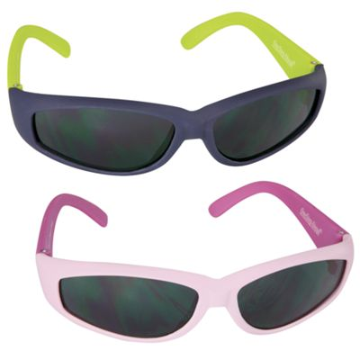 Sun Smarties Rubber Frame Sunglasses