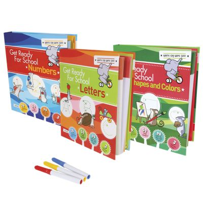Get Ready for School Kindergarten Workbook