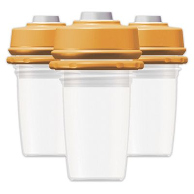 Vacuum Storage Bottles & Caps 5 oz. 3-Pack