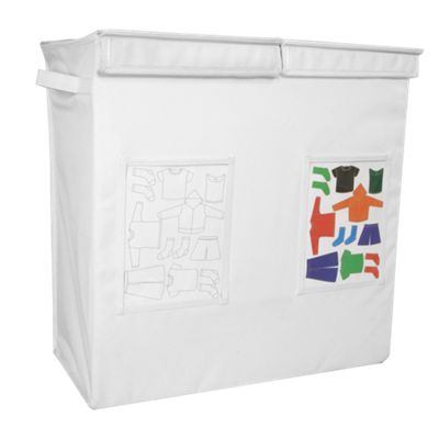 My Closet Kids Canvas Sorting Clothes Hamper