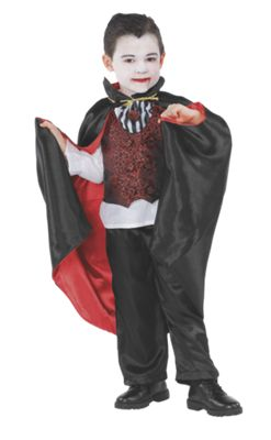 Kids Vampire Halloween Costume