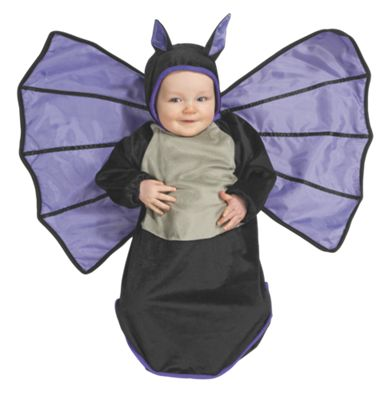 Baby Bat Halloween Costume Bunting
