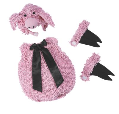 Baby/Toddler Pig Halloween Costume Bubble Suit