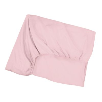 Extra Pink Jersey Toddler Bed Fitted Sheet