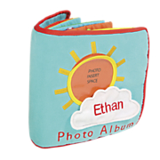 Personalized Babys First Photo AlbumActivity Book