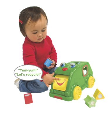 Silly Sam Shape Sorter/Recycling Truck Toy
