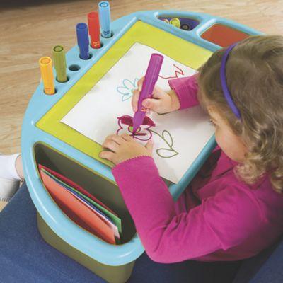 You Hue Kids Art Lap Desk Tray