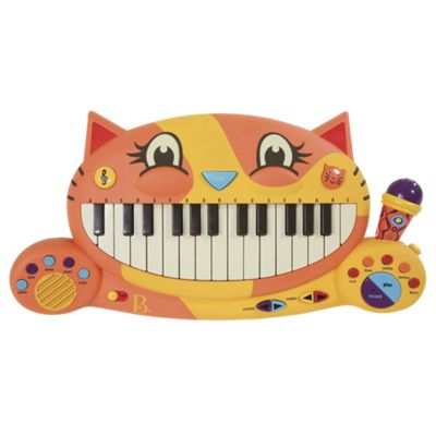 Meowsic Kids Keyboard with Microphone