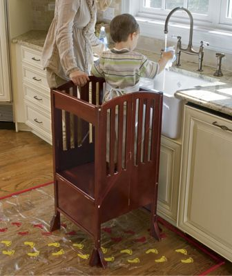 Kitchen Helper Kids Safety Stool From One Step Ahead 2w30688