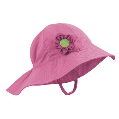 Sun Smarties Girl's Pink Sun Hat