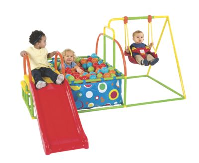 eezy peezy ball pit and slide instructions