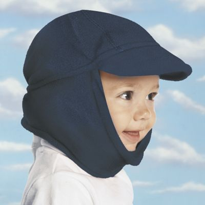 Baby & Kids Stay-Put Fleece Hat with Earflaps