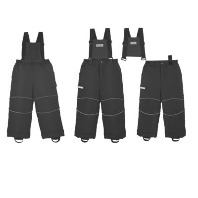 Kids Snow Pants/Snow Bibs with Adjustable Hem