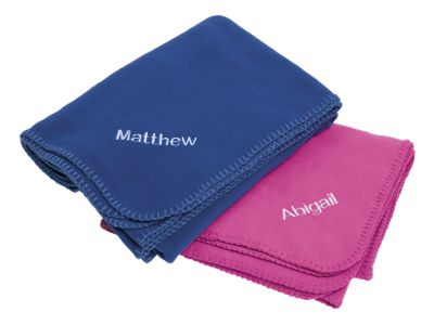 Kids Fleece Travel Blanket and Pillowcase
