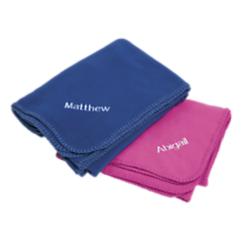 Kids Fleece Travel Blanket and Pillowcase