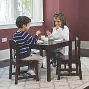 KidKraft Solid Wood Farmhouse Table and Chairs