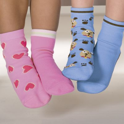 Kids Non-Skid Socks 2-Pack