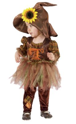 Baby & Toddler Girls Scarecrow Halloween Costume