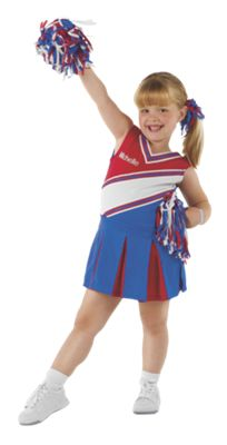 Girls Jr. Cheerleader Halloween Costume