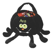 Personalized Spider Halloween Trick or Treat Bag