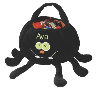 Spider Halloween Trick or Treat Bag