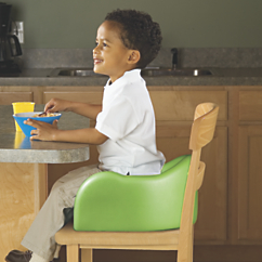 stay put high back foam booster seat