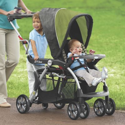 sit and stand plus double stroller manual