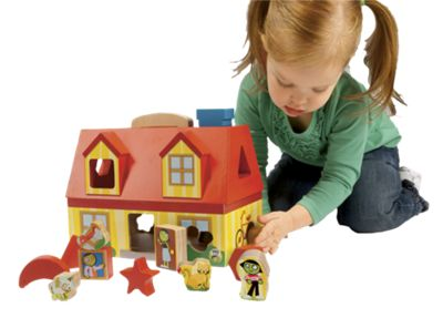 PBS Kids Take Along Shape Sorter Play Set