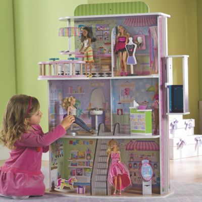 Dollhouse Doll Mall
