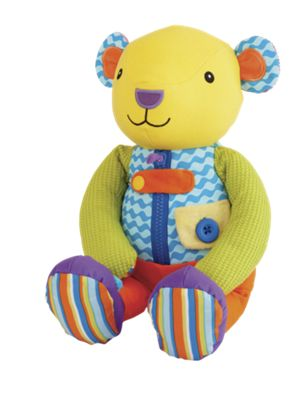 Busy Hands Teddy Bear Dressing Doll