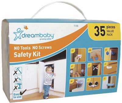 NO Tools NO Screws Childproofing Kit