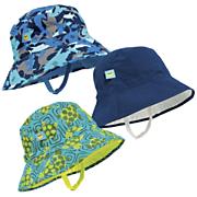Sun Smarties Boy's Reversible, Adjustable UV Sun Hat