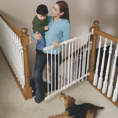 Metal Angle-Mount Safeway Baby Gate