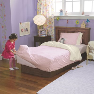 Pink Toddler Chenille Bedding Set
