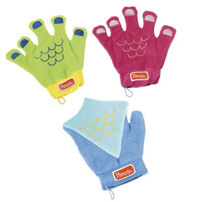 Kids Sudsy Fun Bath Mitts