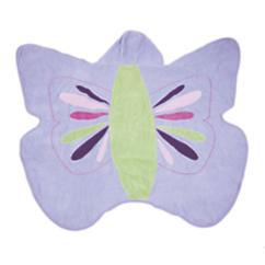Kids Hooded Butterfly Towel