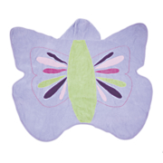 Kids Hooded Butterfly Towel