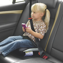 Inflatable, Portable Car Booster Seat
